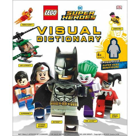 Lego DC Super Heroes Visual Dictionary -  by Elizabeth Dowsett & Arie Kaplan (Hardcover) - image 1 of 1