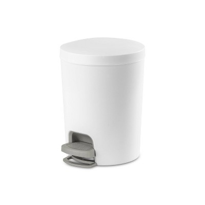 1.6gal Round Step Trash Can - Room Essentials™