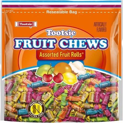 Tootsie Fruit Chew Assorted Fruit Rolls - 37oz