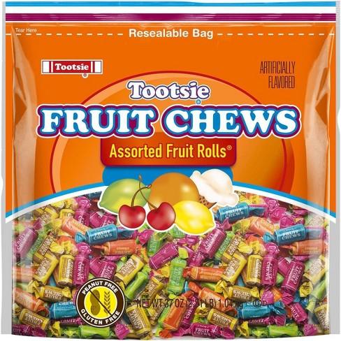 Tootsie Fruit Chew Assorted Fruit Rolls - 37oz - image 1 of 3