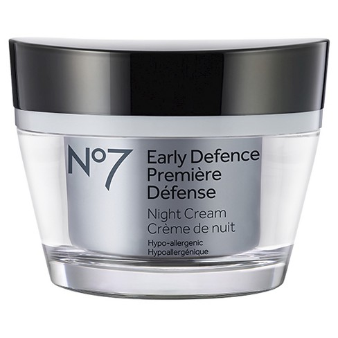No7® Early Defence Night Cream - 1.6oz - image 1 of 1