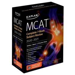 MCAT Complete 7-Book Subject Review 2020-2021 - (Kaplan Test Prep) (Paperback)