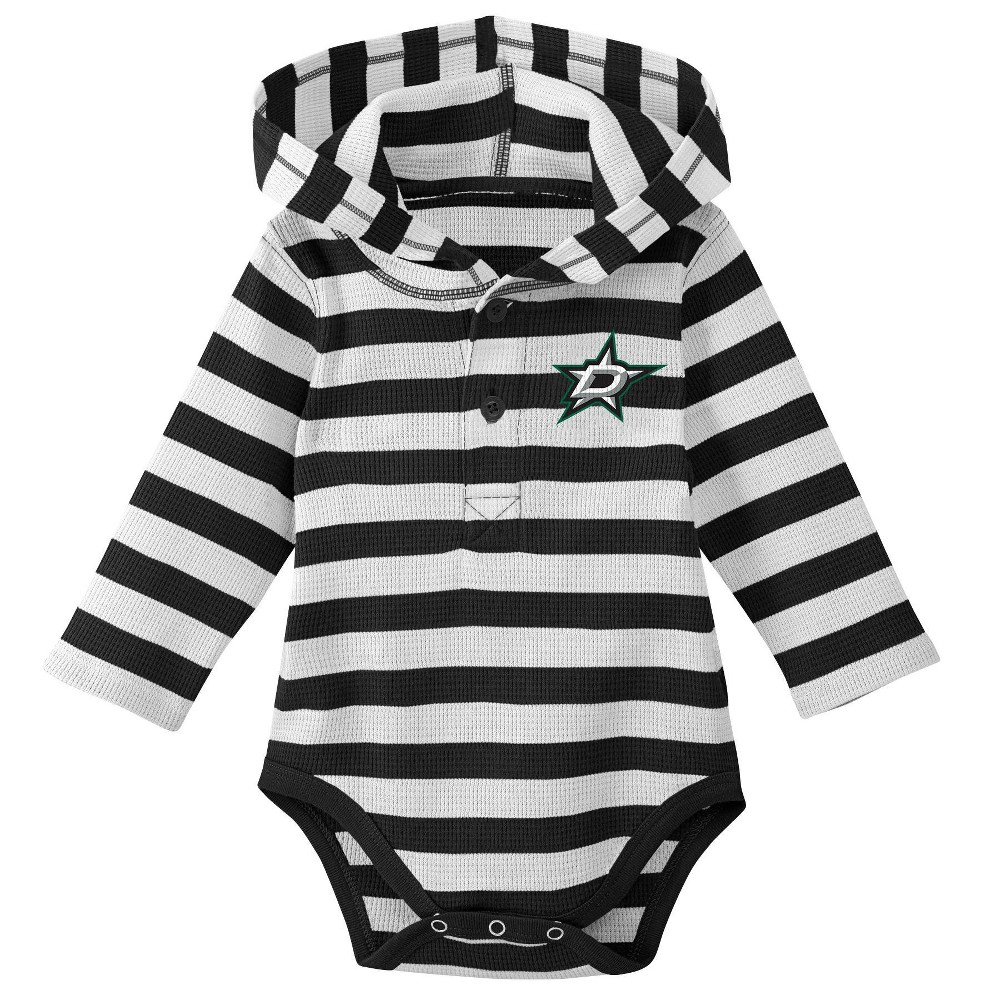 Dallas Stars Boys' Newborn/Infant Sleeper Bodysuit - 3-6M, Multicolored