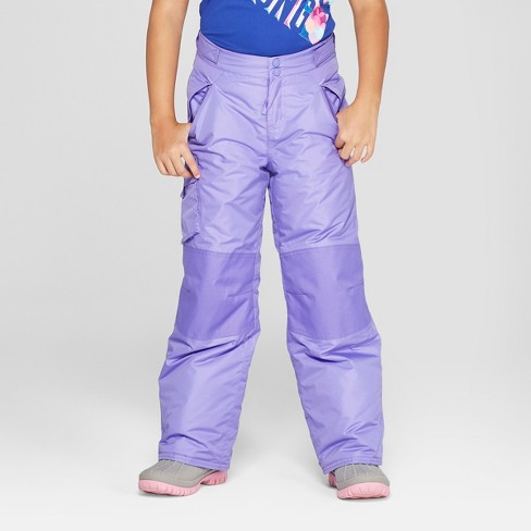 547d8992267f Girls  Snow Pants - C9 Champion® Purple   Target