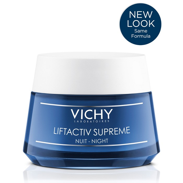 Vichy LiftActiv Supreme Anti-Aging And Firming Night Cream - 1.69oz : Target