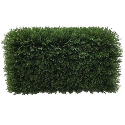 "Artificial Cedar Hedge (L24""xW12""xH12"" UV) - Vickerman"