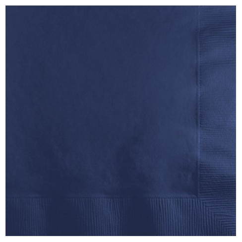 50ct Navy Blue Disposable Napkins - image 1 of 1