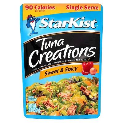 StarKist Tuna Creations Sweet & Spicy Tuna 2.6 oz