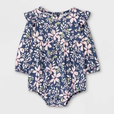 Grayson Mini Baby Girls' Jersey Bubble Romper - 0-3M