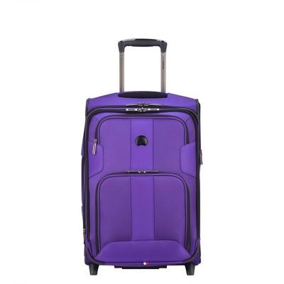 "DELSEY Paris Sky Max 21"" Expandable 2-Wheel Carry On Suitcase"