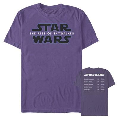 Men's Star Wars: The Rise of Skywalker Movie Premieres T-Shirt