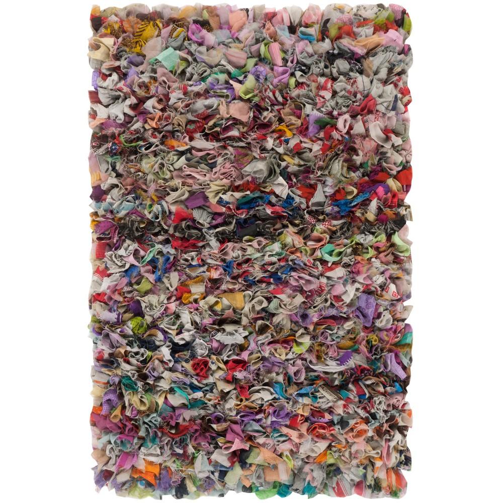 8'X10' Woven Fleck Area Rug Gray - Safavieh, Gray/Multi-Colored