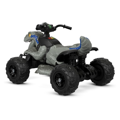 62a426282638d Fisher-Price Power Wheels Jurassic World Dino Racer. Shop all Power Wheels