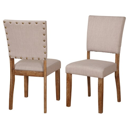 Provence Dining Chair Set Of 2 Driftwood Target Marketing Systems Target