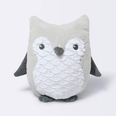 Plush Owl - Cloud Island™ Gray