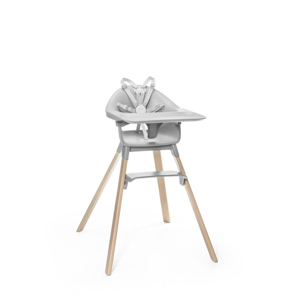 Image of Stokke Clikk High Chair - Cloud Gray