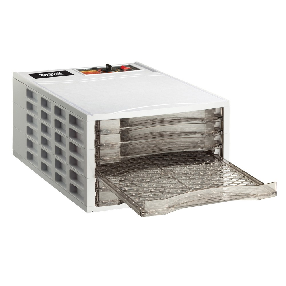 Image of Weston 6 Tray Dehydrator, White