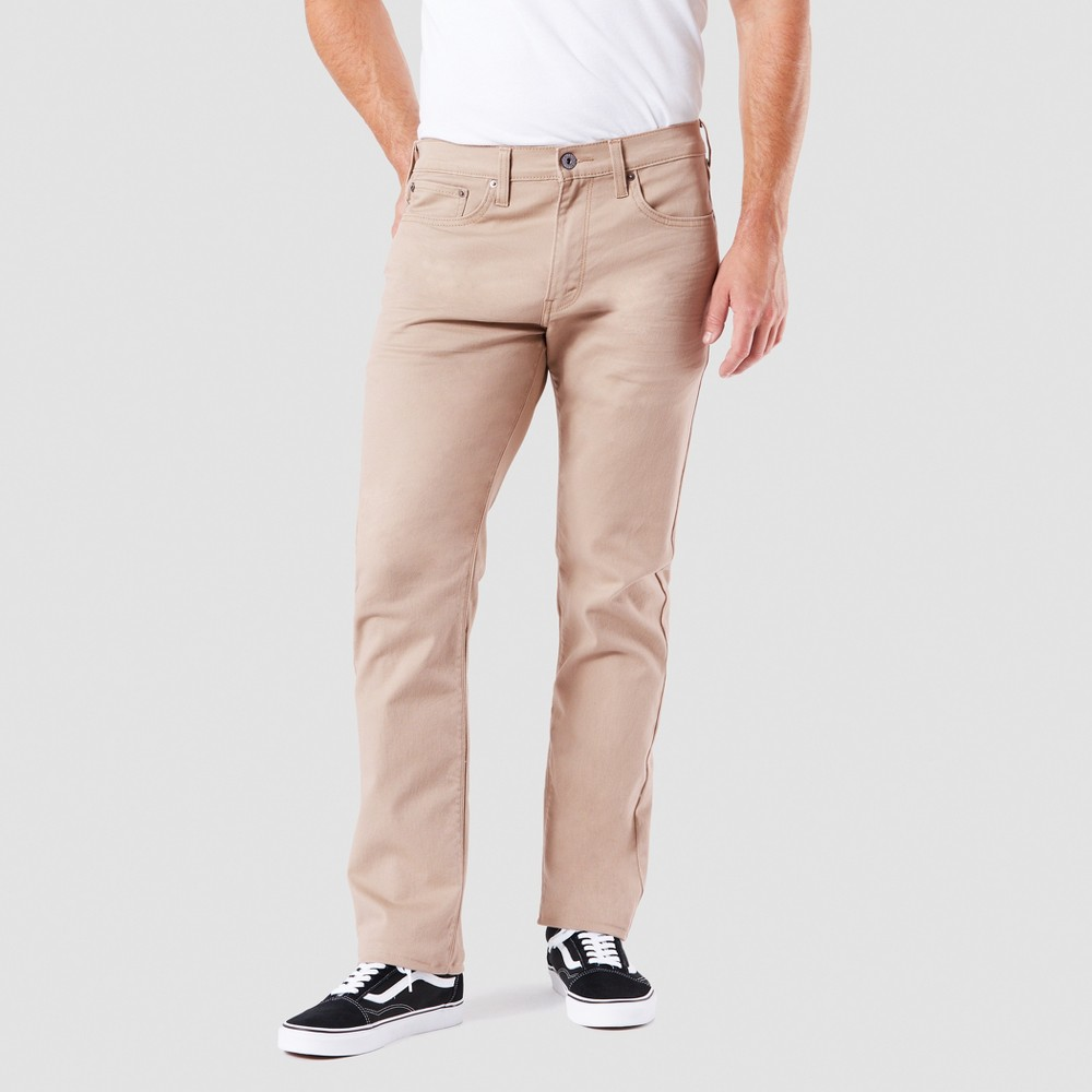 Denizen from Levi's Men's 232 Slim Straight Fit Jeans - Suburban Khaki 36x34