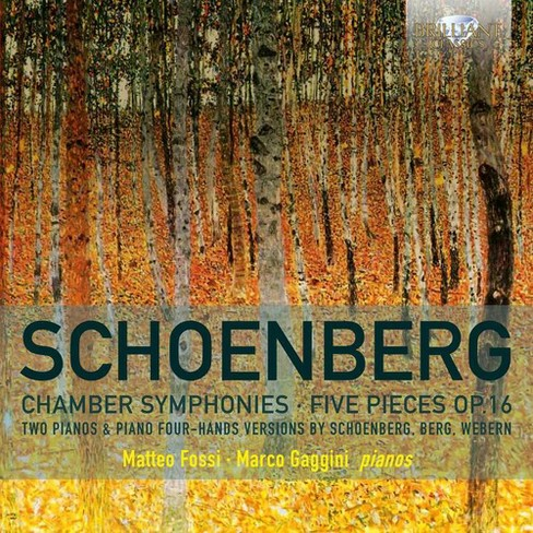 Matteo Fossi - Schoenberg:Chamber Syms Nos 1 & 2-5/O (CD) - image 1 of 1