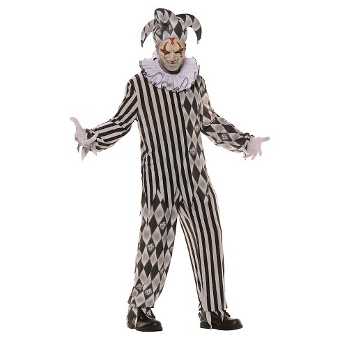 Men's Evil Harlequin Costume One Size Fits Most - image 1 of 1