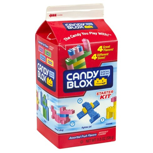 Concord Candy Blox Assorted Fruit Flavors Hard Candies - 11.5oz - image 1 of 2