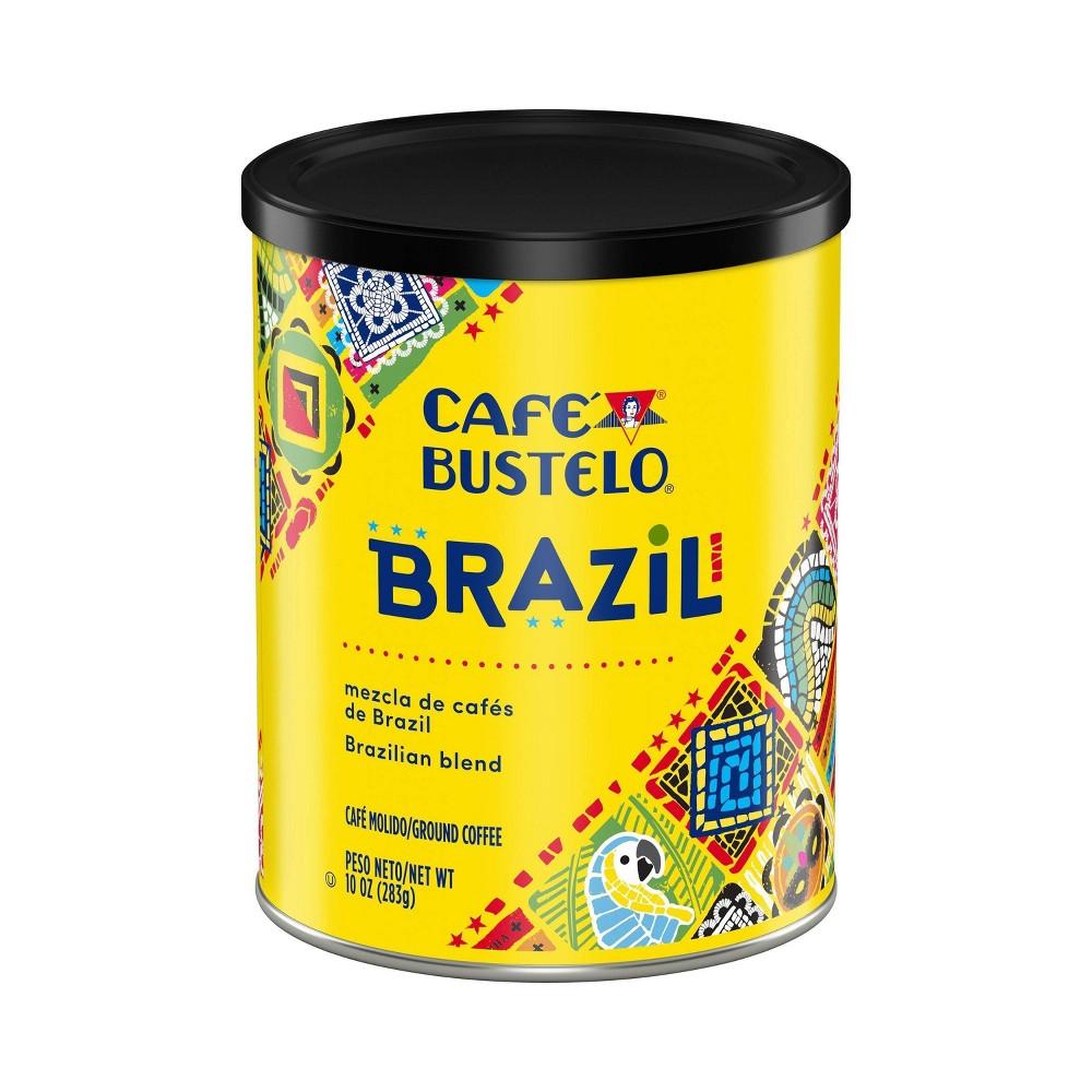 Cafe Bustelo Origins Brazil Dark Roast Coffee 10oz