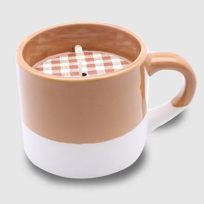 9oz Ceramic Mug Jar Candle Spiced Pumpkin - Threshold™
