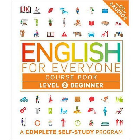 English for Everyone: Level 2: Beginner, Course Book - (Hardcover) - image 1 of 1
