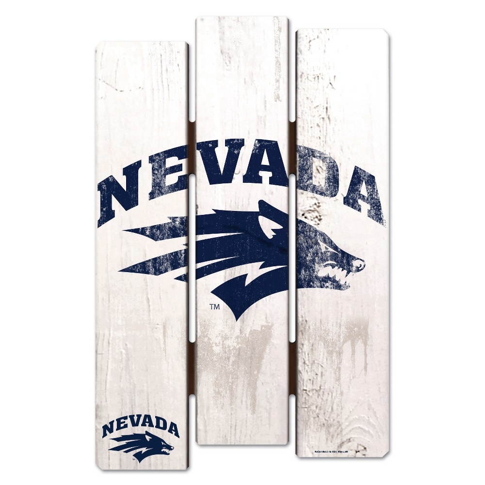 NCAA Nevada Wolf Pack Fence Wall Sign