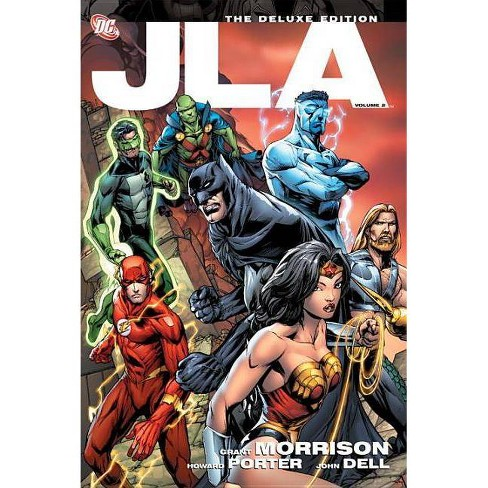 JLA, Volume 2 - (JLA Deluxe Editions) by  Grant Morrison (Paperback) - image 1 of 1