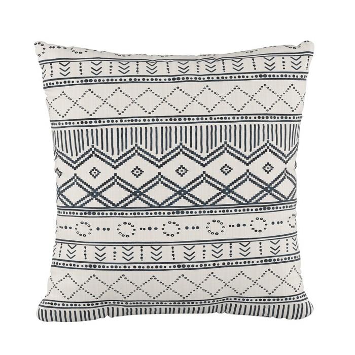 Kuba Throw Pillow - Cloth & Co. - image 1 of 4