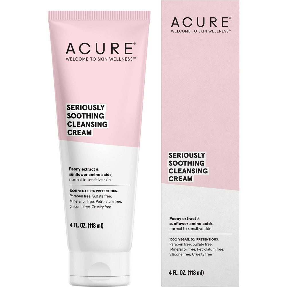 Acure Seriously Soothing Cleansing Cream - 4 fl oz