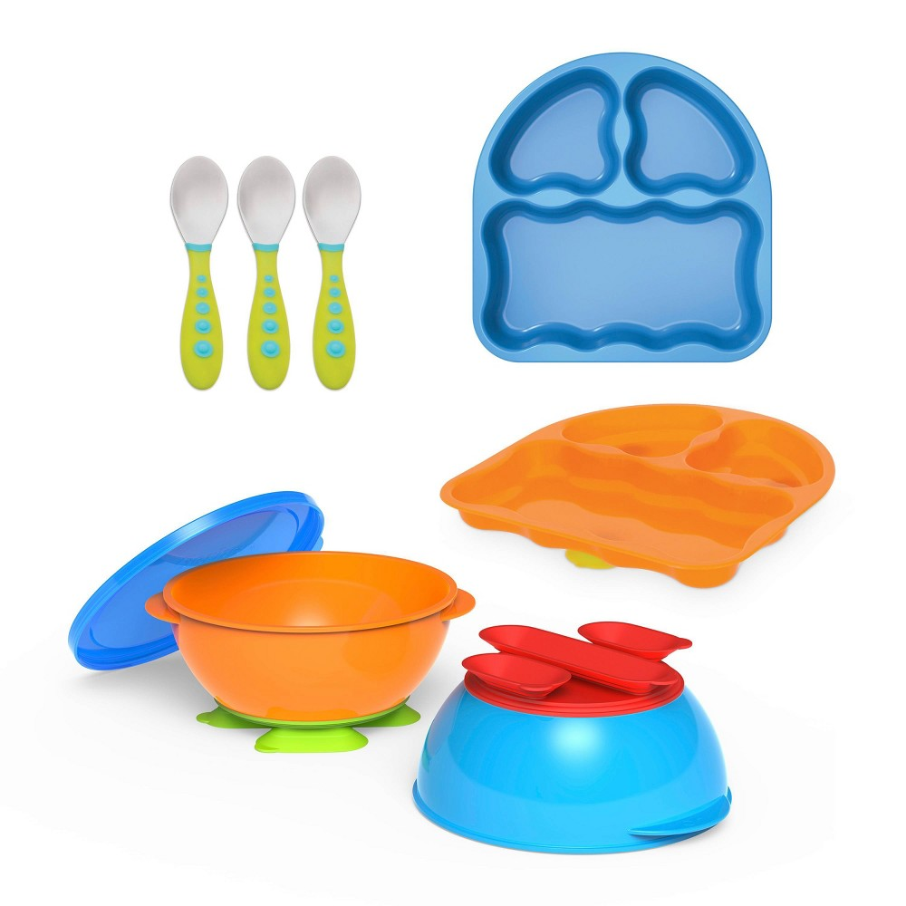 Image of First Essentials By NUK- 7 Piece Toddler Feeding Set