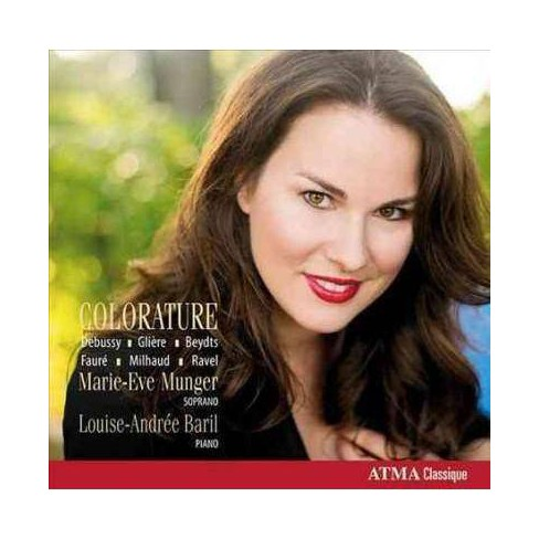 Marie-Eve Munger - Colorature (CD) - image 1 of 1