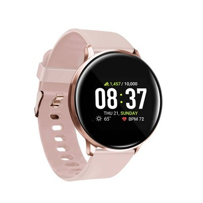 iTouch Sport Fitness Smartwatch 43mm - Rose Gold with Blush Band