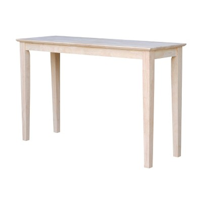 Shaker Table Unfinished - International Concepts