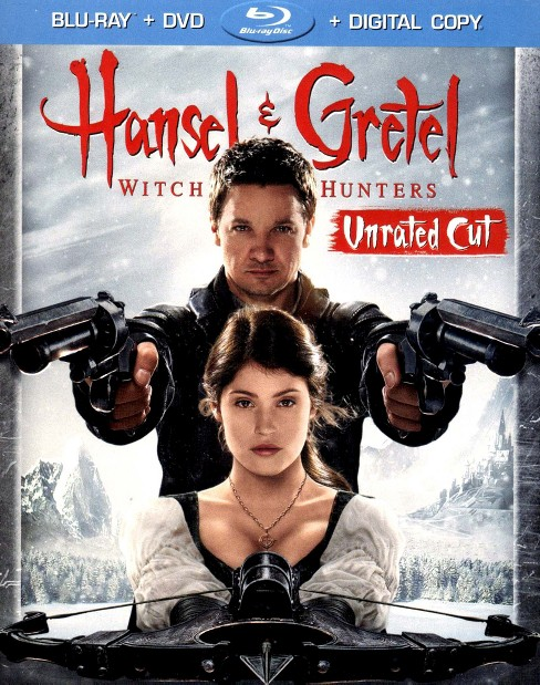 Hansel & Gretel: Witch Hunters (Unrated Cut) (Blu-ray / DVD ) - image 1 of 1