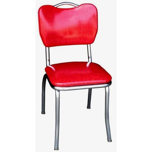 Handle Back Diner Chair Cracked Ice Red - Richardson Seating - image 1 of 1