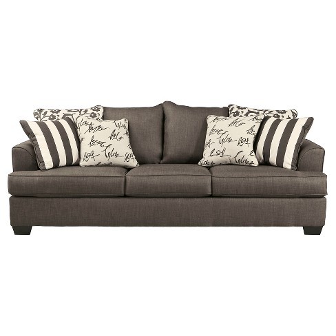 Levon Sofa Charcoal - Signature Design by Ashley - image 1 of 3