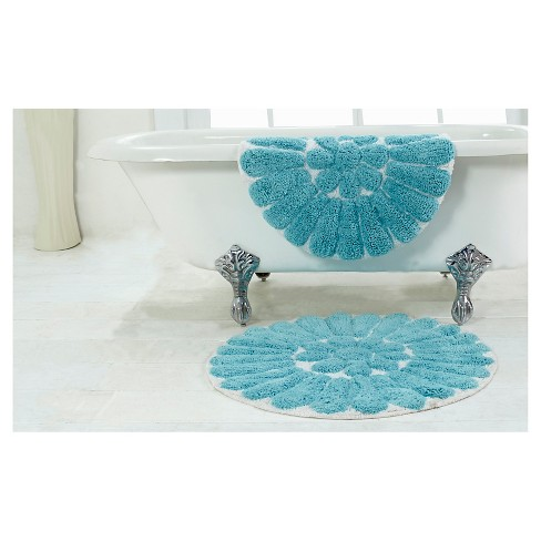 Bursting Flower Bath Rug Set Chesapeake Target
