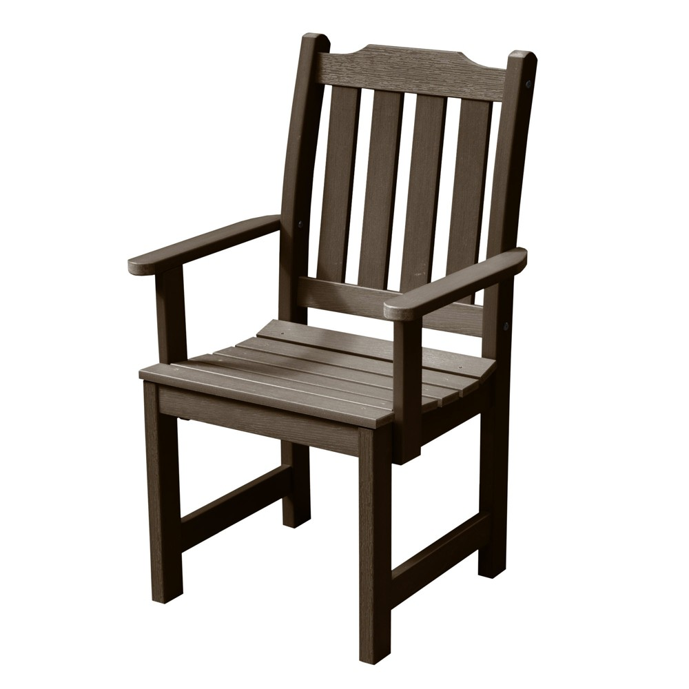 Lehigh Dining Armchair Weathered Acorn - Highwood