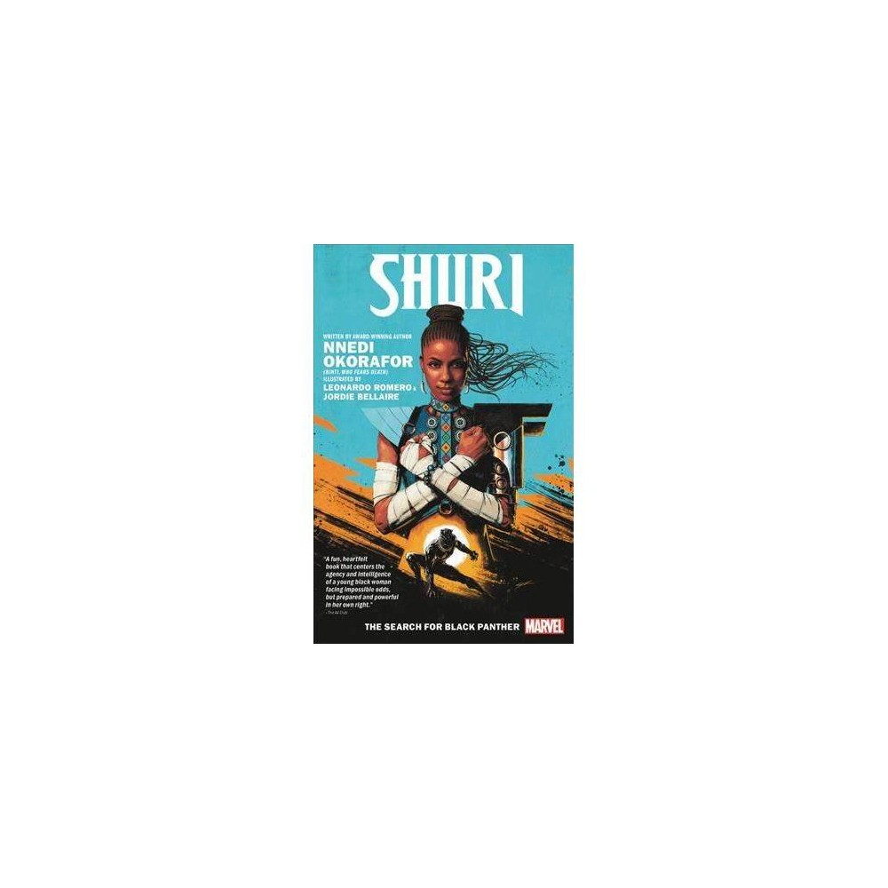 Shuri : The Search for Black Panther - by Nnedi Okorafor (Paperback)