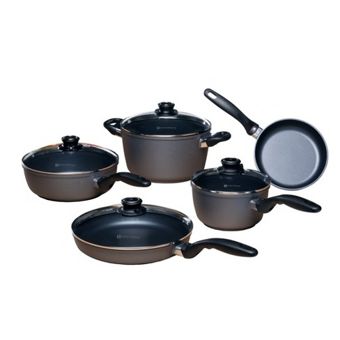 Swiss Diamond 9pc Cookware Set - image 1 of 4