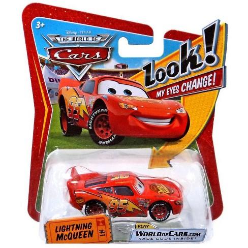 Disney Pixar Cars The World Of Cars Lenticular Eyes Series 1 Lightning Mcqueen Diecast Car Target