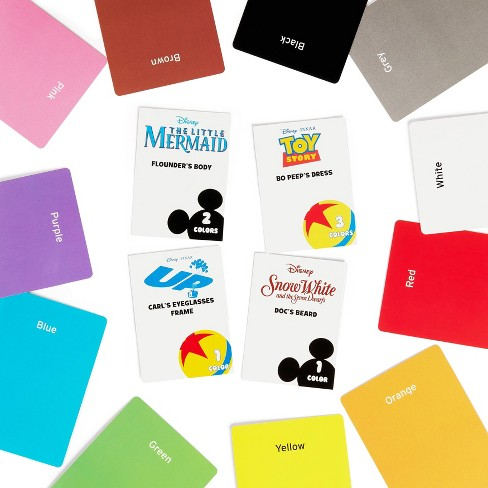 Color Brain Disney Edition Game : Target