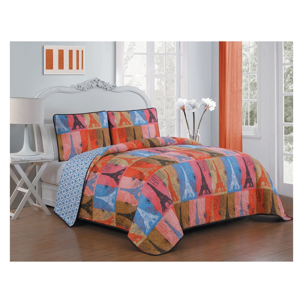 Image of 2pc Twin Cannes Quilt Set - Avondale Manor