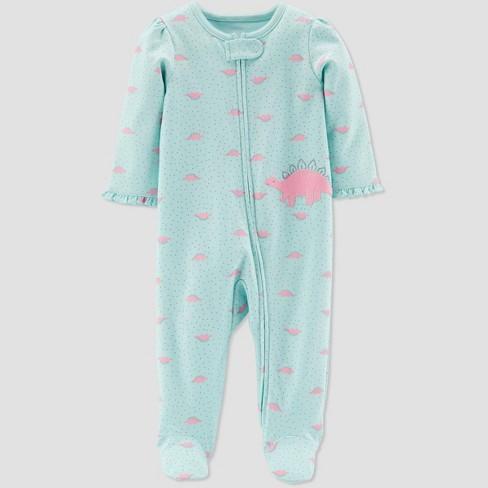 5aa7fb87b Baby Girls  Dino Sleep  N Play One Piece Pajama - Just One You® Made ...