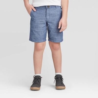 Boys' Stretch Flat Front Chino Shorts - Cat & Jack™