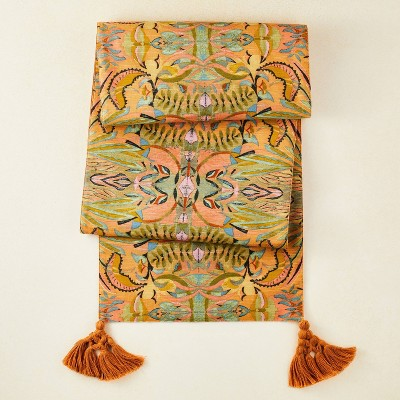 """72"""" x 14"""" Cotton Printed Table Runner - Opalhouse™ designed with Jungalow™"""