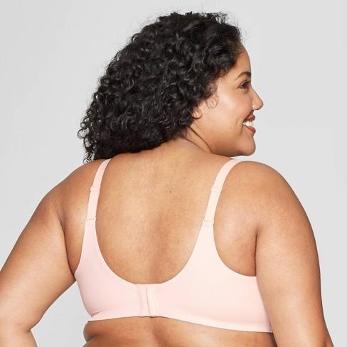 c593abc056c05 Women s Plus Size Wirefree Bra - Auden™ Casual Pink 48D   Target